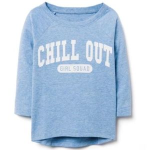 Crazy 8 Girl's Long Sleeve Chill Out Tee